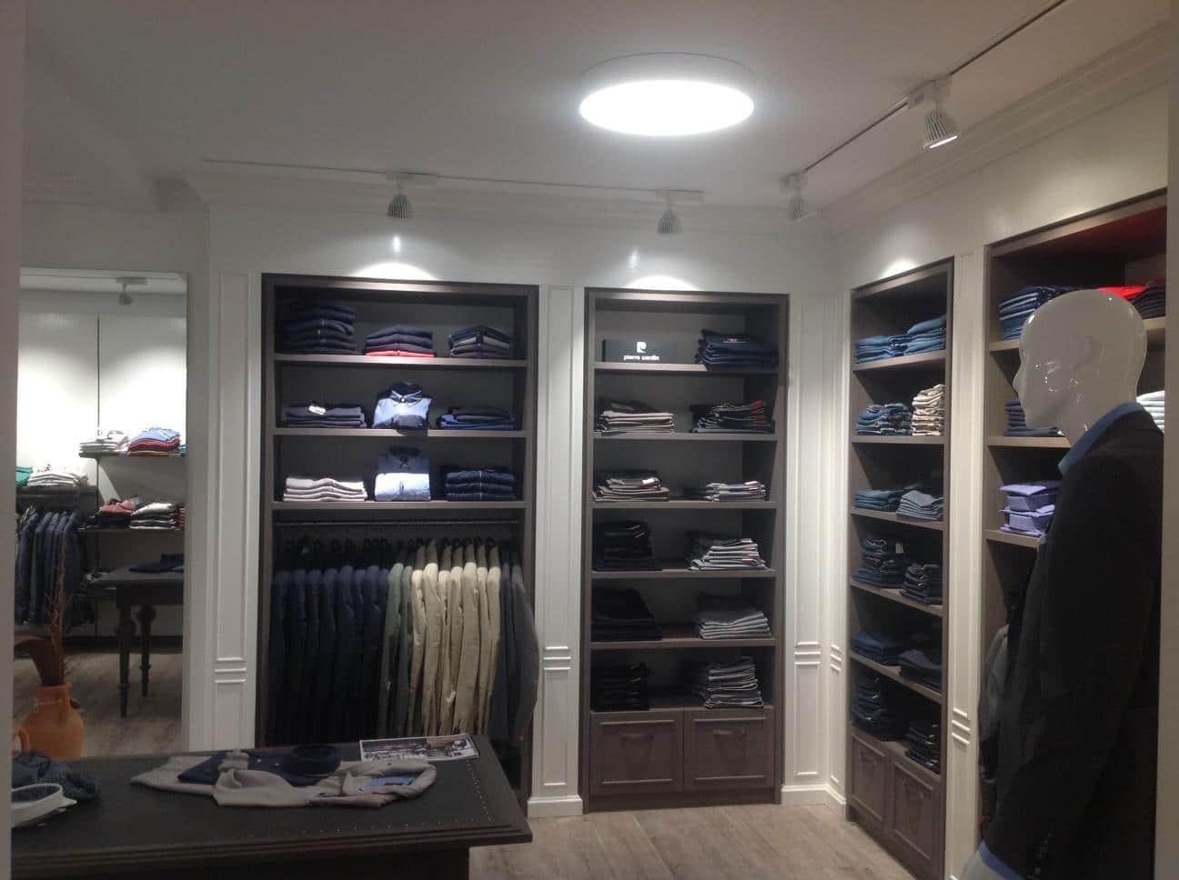 Shopbeleuchtung & Konzepte