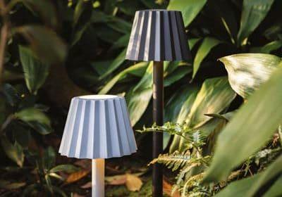 Retro Leuchte DELTALIGHT für Außenbeleuchtung