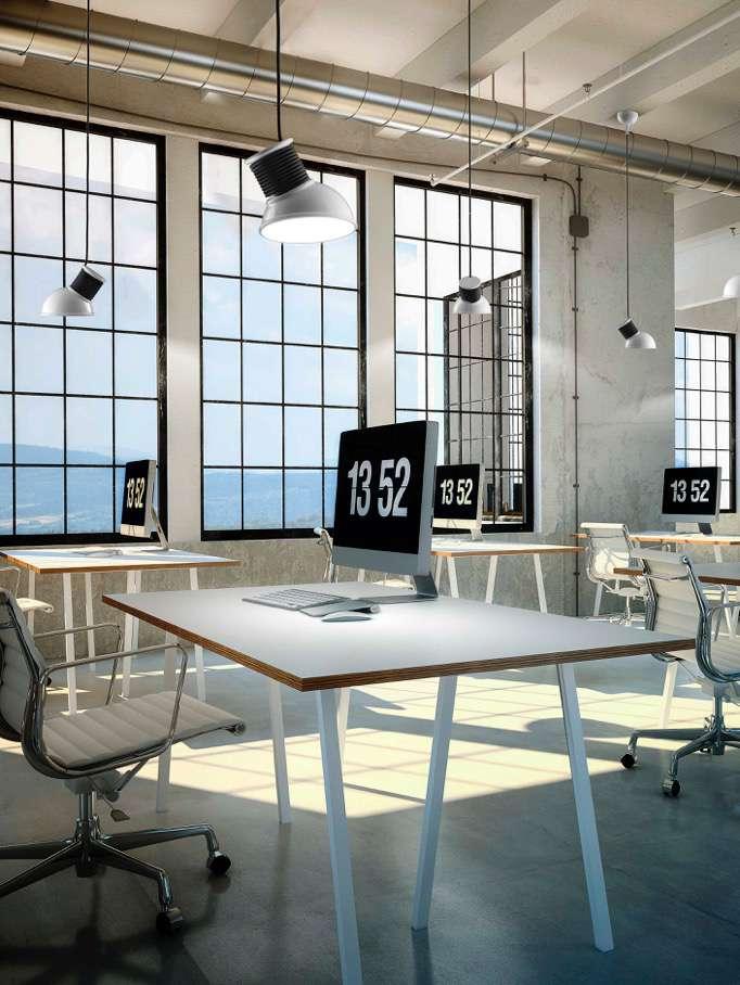 Aldo Bernardi Design-Beleuchtung für das Büro