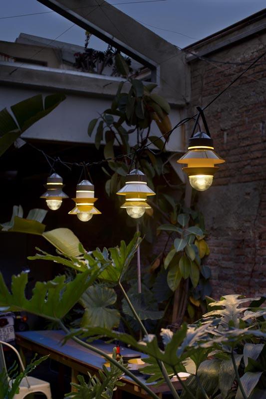 Hängelampen als Außenleuchte für Gartenbeleuchtung in Freiburg