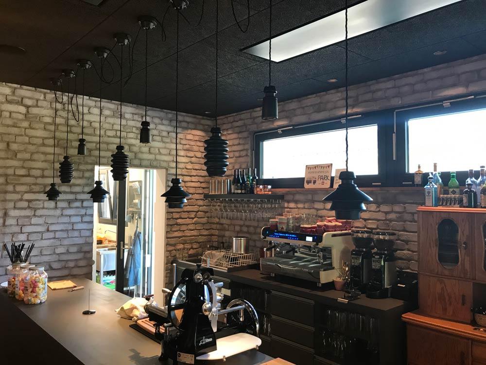 Dekorative beleuchtung im caf mathilde von lichtraum freiburg - Lampen freiburg ...