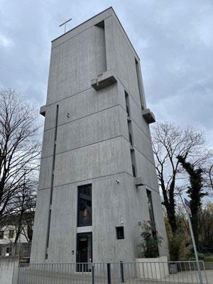 Lichtplanung von Lichtraum Freiburg im Bauhaus Glockenturm