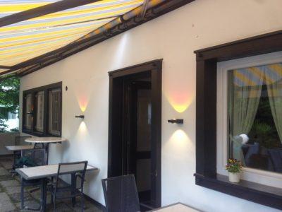 Außenbeleuchtung für die Terrasse