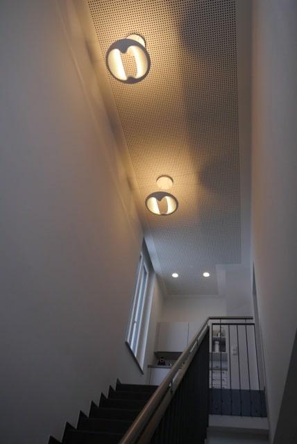 Lichtplanung im Treppenhaus