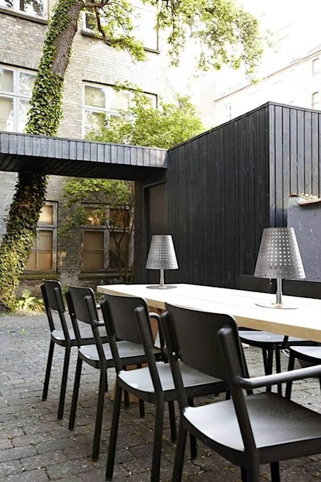 Designer Gartenleuchte