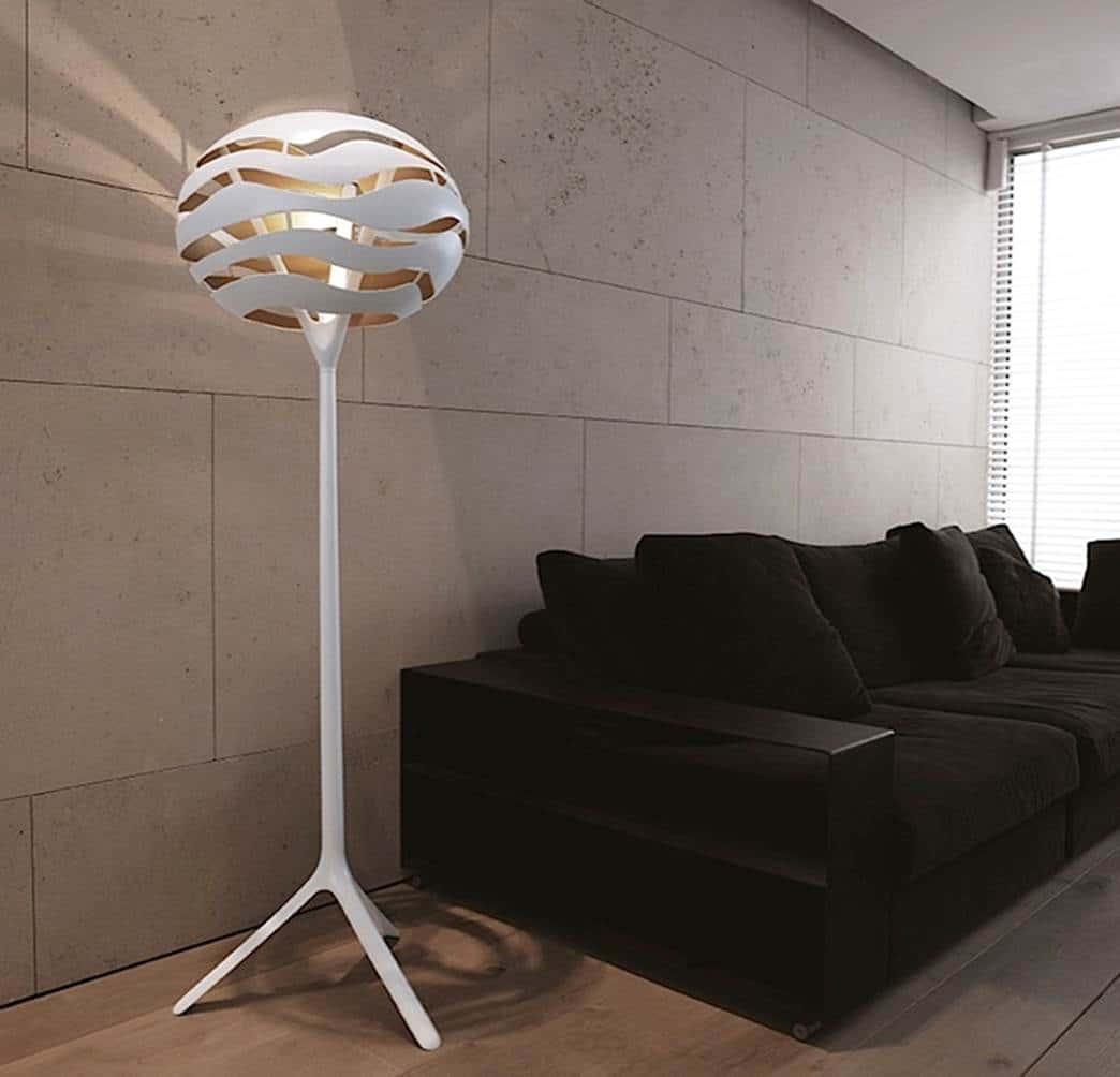 Designer Stehlampe von Lichtraum Freiburg