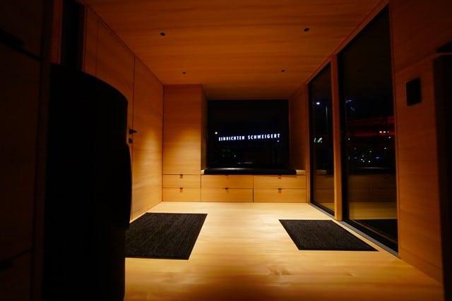 Designleuchte in Freiburg von Lichtraum im Togo Tinyhouse