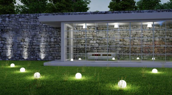 Garten-Lichtplanung für stimmungsvolle Atmosphäre