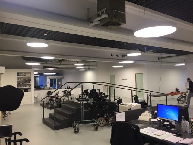 Leuchtkraft im Gesundheitszentrum