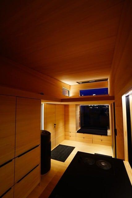 Lichtplanung im Togo Tinyhouse, gedämmt von Lichtraum Freiburg
