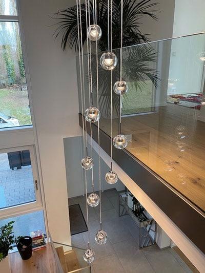 Lichtplanung von Lichtraum im Treppenhaus