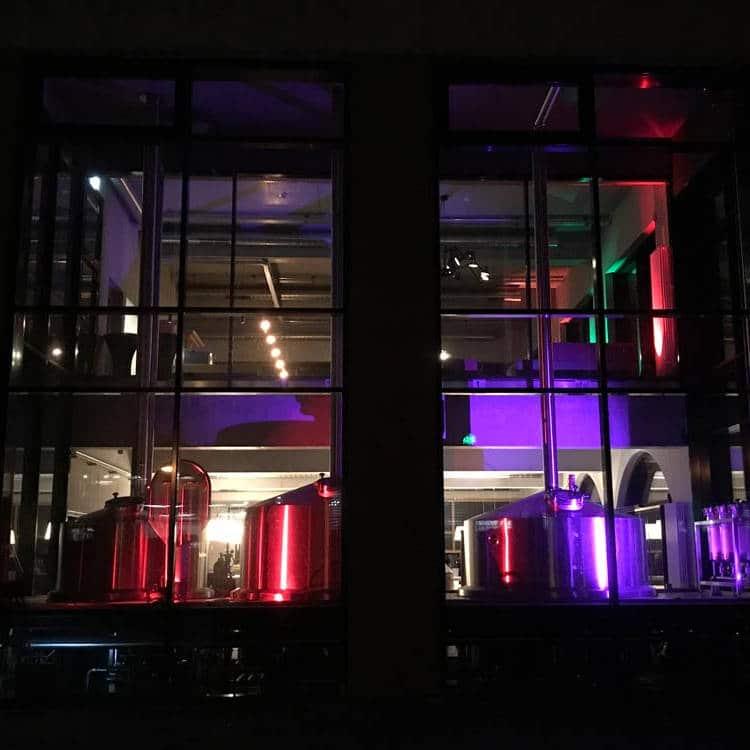 Lichtraum Brauerei Beleuchtung Baden