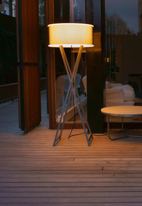 Gartenlampe für die Terrasse bei Lichtraum Freiburg