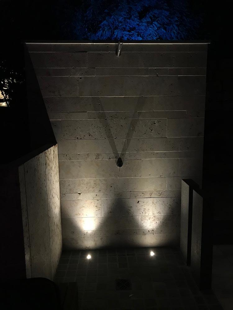 Außenbeleuchtung für ein schönes Ambiente bei Nacht