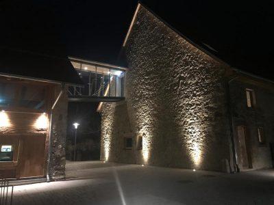 Mauerbeleuchtung der Talvogtai in Kirchzarten