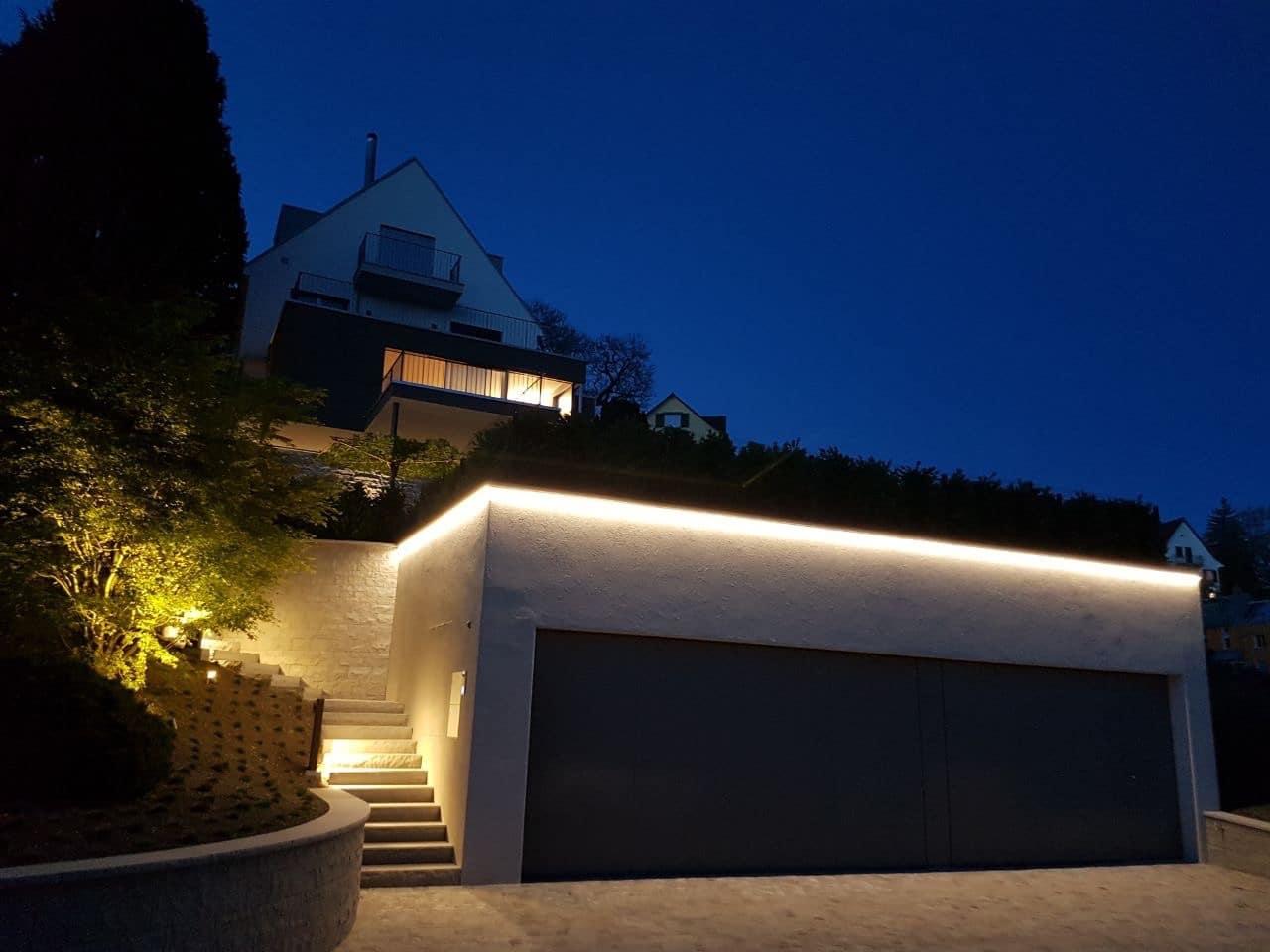 Garagenbeleuchtung – Lichtplanung Freiburg