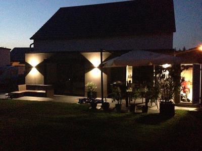 Privathaus Aussenbeleuchtung