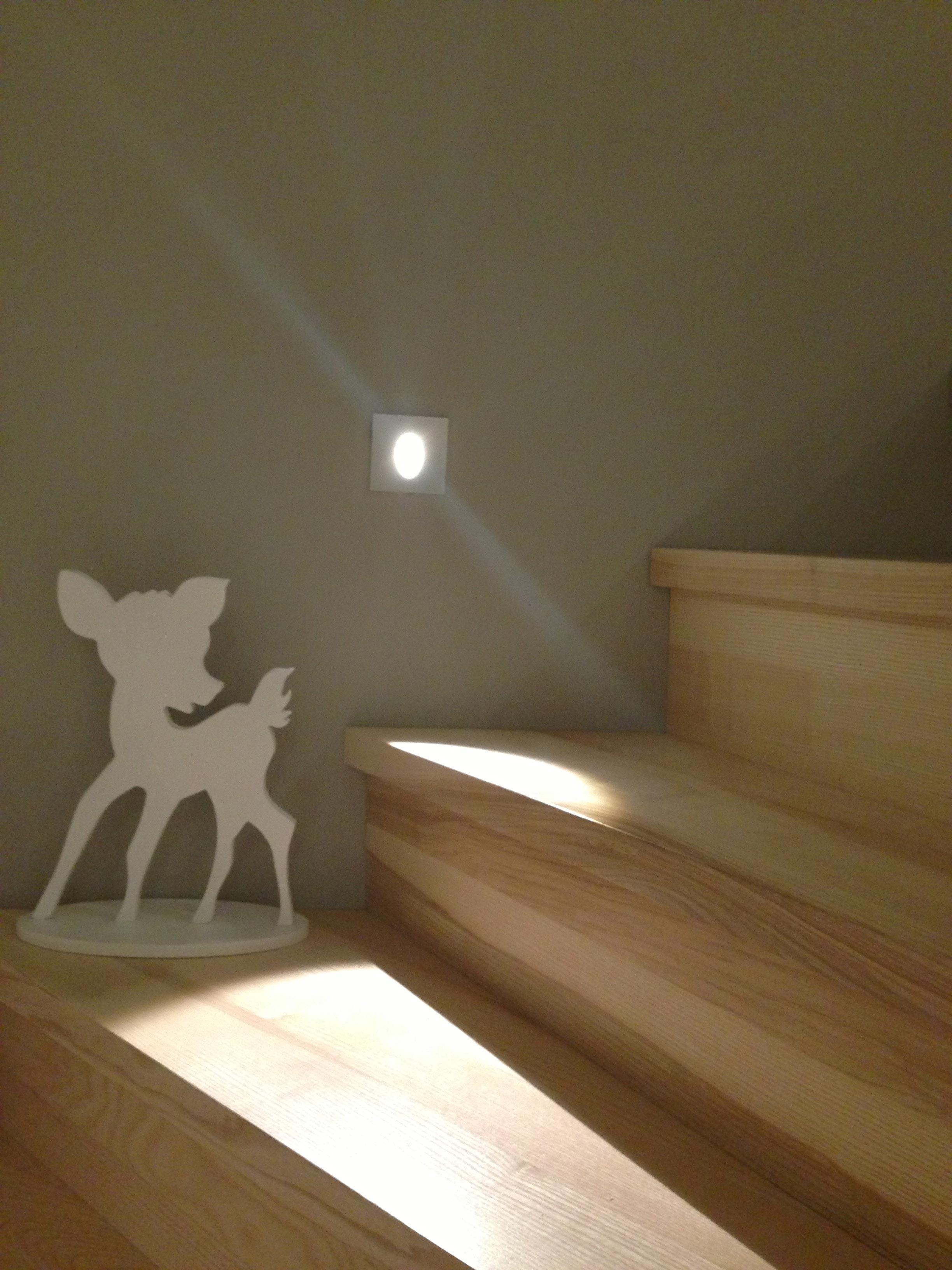 Nachtbeleuchtung für die Treppe