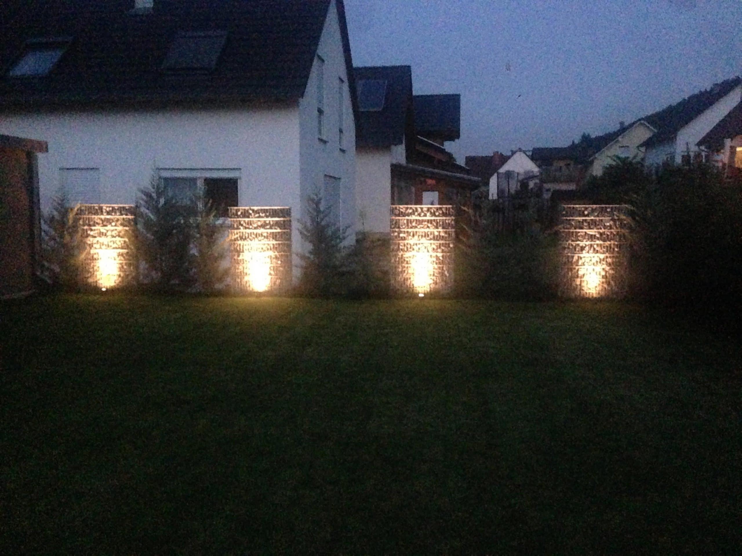 Außenbeleuchtung für den Garten