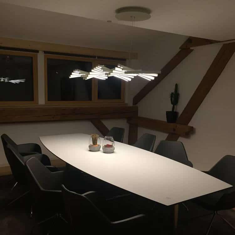Tischbeleuchtung Denkraum Freiburg