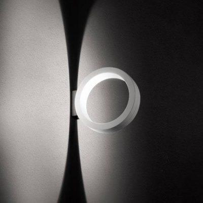 Runde Wandleuchte für akzentvolles Licht